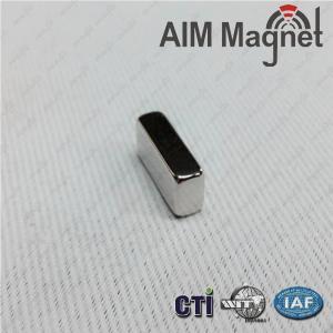 "China 15/16"" x 1/8 "" x 1/8 "" block sintered ndfeb magnet on sale"