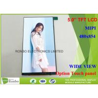 Buy cheap MIPI Interface Cell Phone LCD Display Wide View 5 Inch Thin and Narrow LCD Panel product