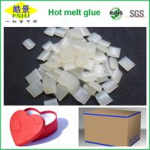 Buy cheap Carton Sealing EVA Hot Melt Adhesive ,  Pressure Sensitive Packing Glue product