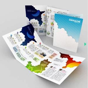 Quality 2015 Custom Folded Leaflet Print for sale