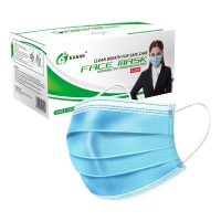 Buy cheap ASTM F2100 17.5*9.5cm Disposable Surgical Face Mask product
