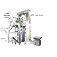 Buy cheap Fully PLC Multihead Weigher Packing Machine For Peanut / Dry Fruits / Corns With Vacuum Sealing product