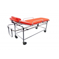 Buy cheap Non-magnetic Alloy Portable Emergency Automatic Ambulance Stretcher Bed for MRI for Hospital product