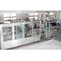 Buy cheap Plastic Bottle Pesticide filling machine , mineral water rinsing filling capping machine product