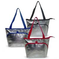 Buy cheap Large Soft Cooler Insulated Picnic Bag for Grocery, Camping, Car, Bright Orange Color, food packing insulated Aluminum product