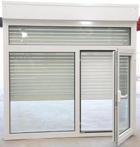 Buy cheap OEM Aluminium Tilt Turn Windows , Aluminium Glass Louvers Window With Crimsafe Mesh product