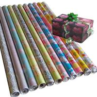 China 30inch x 120inch  80gsm coated paper custom printed gift wrapping paper wholesale on sale