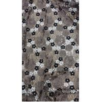 Elegant lace fabric, polyester lace, embroidery lace fabric micro fiber lace fabric 150cm