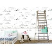 Buy cheap 0.53*10m / Roll Kids Bedroom Wallpaper , House Pattern Children'S Room Wallpaper product