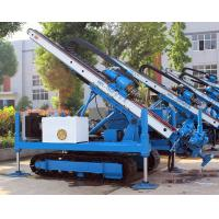 Buy cheap 0~ 90 ° Hydraulic Crawler Deep Foundation Pit Anchor Drilling Rig product