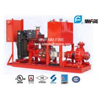 Buy cheap Single Stage End Suction Fire Pump 250GPM@125PSI With Diesel Engine Drive product