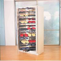 Buy cheap ABS And Steel Revolving Shoe Rack Organizer With 1694mm Height, Multi-Layer For Closet product