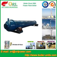 Buy cheap Silver oil fired boiler mud drum SGS certification manufacturer product