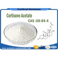 Buy cheap Molecular Weight 404.5 Pharmaceutical Raw Materials Cortisone Acetate CAS 50-04-4 product