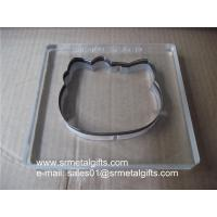 Buy cheap Steel blade transparent die cutter, clear steel cutter dies from wholesalers