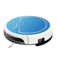 Buy cheap Blue Automatic Floor Clening Robot , Smart Robot Floor Sweeper Auto Recharged product