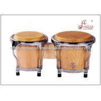 """Buy cheap Mini Bongo Drum Percussion Musical Instruments 4"""" / 5"""" With Birch Wood Material product"""
