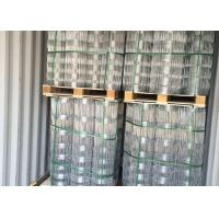 Buy cheap Hot Dipped Galvanized Field Fence , Hinge Joint Wire Fencing Bright Color product