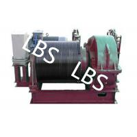 Buy cheap Electric Winding Hoist Wrie Rope Electric Marine Winch Lifting Capacity 10T , 30T product