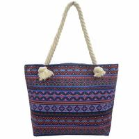Buy cheap Bohemian Wind Custom Shoulder Bags , Cotton Handles Tote Bags product