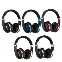 Buy cheap SD Card supported Foldable Stereo Headband over ear BT blue tooth headset Wireless Headphones product