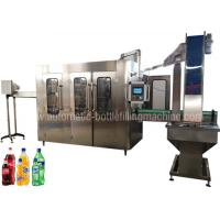 Buy cheap Carbonated Soft Drink Filling Machine Equipment For Soda Factory Bottling Line from wholesalers