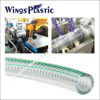 Buy cheap PVC Materials Steel Wire Reinforced Hose Making Machine / Extrusion Facility product