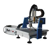 Buy cheap Mini metal del CNC de la mesa 360*360m m que talla la máquina con control de DSP from wholesalers