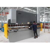 Buy cheap 160T 3.2M NC Steel Press Brake Steel Bar Cutting And Bending Machine 11KW Power product