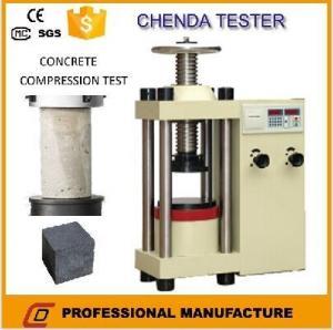 Buy cheap YES-2000油圧圧縮の試験機+Concreteの圧縮の試験機 product