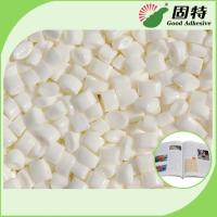 Buy cheap White Granule EVA And Viscosity Resin Spine Hot Melt  Glue For Bookbinding , Less Bubbles product