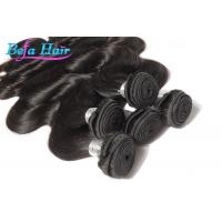 China Unprocessed 8a Brazilian Virgin Human Hair Body Wave No Mixture Double Layers wholesale