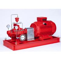 Buy cheap 500GPM@130PSI  UL  Split-case Fire Fighting motor Pump sets with Eaton Controller product