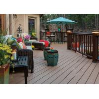 Buy cheap Anti-Mould PVC Composite Wood Decking Flooring Cafe PVC Decking Flooring product