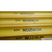 Buy cheap Waterproof Treated H20 Timber Beam , Yellow Timber H Beam For Slab Formwork product