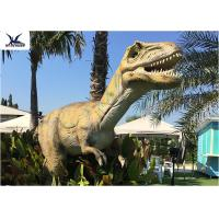 Buy cheap High Simulation Large Dinosaur Garden Statues , Moving Dinosaur Yard Statue  from wholesalers