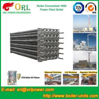Buy cheap Water Heater Boiler Stack Economizer Boiler System , Boiler Economiser product
