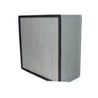 Buy cheap Washable Cleanroom HEPA Air Filter for Filtration System , Anodized Aluminum Frame product