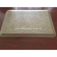 China White Relief Pressure Standing Kitchen Padded Floor Mats OEM Logo Kitchen Mat on sale