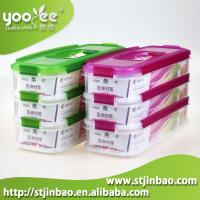 Buy cheap Factory Wholesale Plastic Container Food Packaging Box with Pink and Green Color product