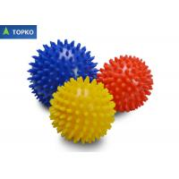 China Multi Color Spiky Pain Relief Small Yoga Exercise Ball High Density SGS ROHS on sale