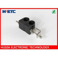 """Buy cheap 1 - 1/4"""" Two Way Through Type Coaxial Cable Clamp with PP & Stainless Steel Material product"""