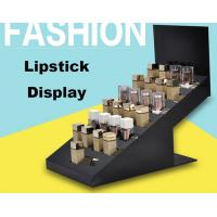 Buy cheap High End Retail Cosmetic Display Cases Lipstick Display Stand Eco Friendly Material product
