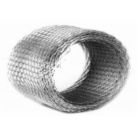 Buy cheap Fine Expanded Metal Wire Mesh Decorative Galvanized Steel Sheet 0.5mm Thickness product
