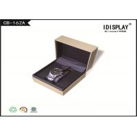 Buy cheap Rectangle Cardboard Luxury Watch Gift Box  Packaging With Custom Logo product
