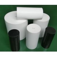 Buy cheap Natural White Virgin Molded PTFE Rod Self Lubricating With High Performance product