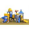 Buy cheap Popular Childrens Kids Outdoor Plastic Slide Playground RobotWeldingTechnology product