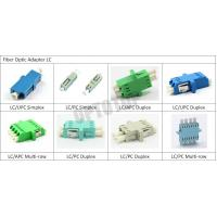 Buy cheap Simplex / Duplex Fiber Optic Connector Adapters product