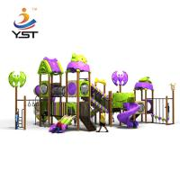 Buy cheap Safety Childrens Garden Slide Swing Combination Fence Naughty Fort product