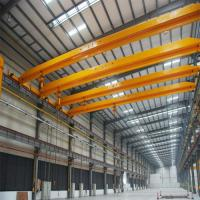 China 20T bridge overhead crane single beam travelling overhead crane on sale